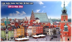 Đặt mua vé máy bay Hà Nội đi Ba Lan Vé máy bay Hà Nội đi Ba Lan
