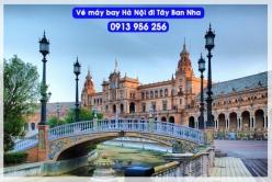 Đặt mua vé máy bay Hà Nội đi Tây Ban Nha Vé máy bay Hà Nội đi Tây Ban Nha