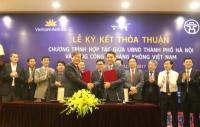 Vietnam Airlines sẽ thực hiện sứ mệnh quảng bá những hình ảnh đẹp nhất về Hà Nội đi khắp thế giới Vietnam Airlines đưa hình ảnh Hà Nội đi khắp năm châu