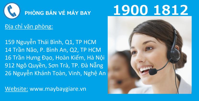 Vé máy bay giá rẻ TP Hồ Chí Minh Hải Phòng