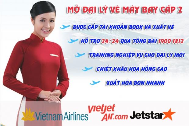 Hướng dẫn thủ tục mở đại lý vé máy bay tại Sài Gòn Thủ tục mở đại lý vé máy bay tại Sài Gòn