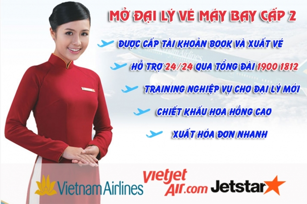 Hướng dẫn thủ tục mở đại lý vé máy bay tại Cần Thơ Thủ tục mở đại lý vé máy bay tại Cần Thơ
