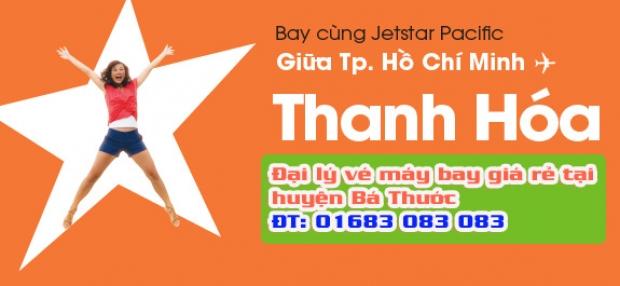 Đại lý vé máy bay giá rẻ tại huyện Bá Thước của Jetstar Đại lý vé máy bay giá rẻ tại huyện Bá Thước của Jetstar