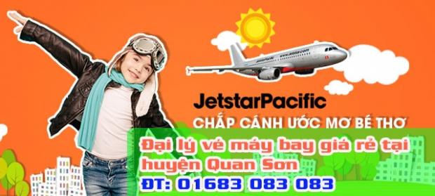 Đại lý vé máy bay giá rẻ tại huyện Quan Sơn của Jetstar Đại lý vé máy bay giá rẻ tại huyện Quan Sơn của Jetstar