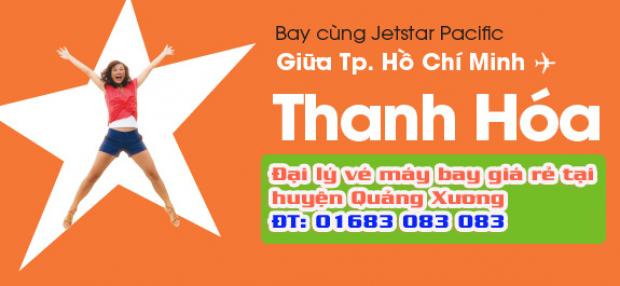 Đại lý vé máy bay giá rẻ tại huyện Quảng Xương của Jetstar Đại lý vé máy bay giá rẻ tại huyện Quảng Xương của Jetstar