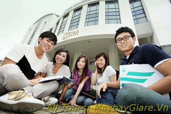 Vé máy bay giá rẻ dành cho du học sinh Việt Nam đi du học ở nước ngoài Vé máy bay đi du học