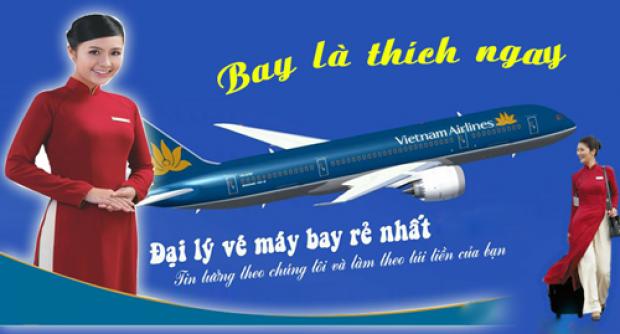 Đại lý vé máy bay giá rẻ tại Huyện Chợ Mới của Vietnam Airlines đang có khuyến mãi giá siêu rẻ Đại lý vé máy bay giá rẻ tại Huyện Chợ Mới của Vietnam Airlines