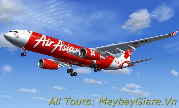 Đặt vé máy bay giá rẻ trực tuyến và bay cùng Air Asia Vé máy bay Air Asia