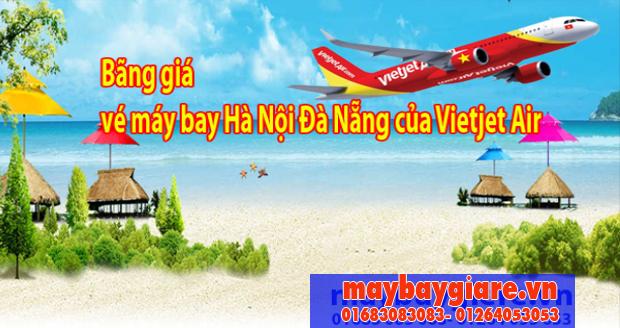 Bảng giá vé máy bay Hà Nội Đà Nẵng của Vietjet Air đang có chương trình khuyến mãi Bảng giá vé máy bay Hà Nội Đà Nẵng của Vietjet Air