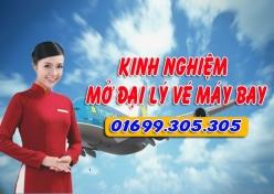 Chia sẻ kinh nghiệm mở đại lý vé máy bay Kinh nghiệm mở đại lý vé máy bay