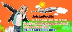 Đại lý vé máy bay giá rẻ tại huyện Quan Sơn của Jetstar