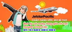 Đại lý vé máy bay giá rẻ tại huyện Vĩnh Lộc của Jetstar