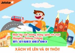 Đại lý vé máy bay giá rẻ tại huyện Nông Cống của Jetstar