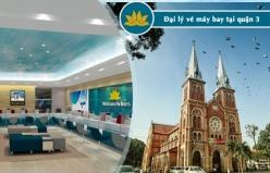 Đại lý vé máy bay giá rẻ tại quận 3 của Vietnam Airlines