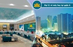 Đại lý vé máy bay giá rẻ tại quận 8 của Vietnam Airlines