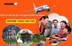Đại lý vé máy bay giá rẻ tại quận Ba Đình của Jetstar