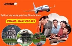 Đại lý vé máy bay giá rẻ tại quận Long Biên của Jetstar