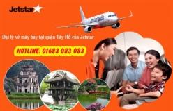 Đại lý vé máy bay giá rẻ tại quận Tây Hồ của Jetstar