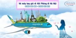 Vé máy bay giá rẻ Hải Phòng đi Hà Nội của Vietnamairlines