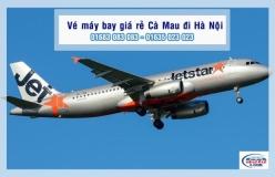 Vé máy bay giá rẻ Cà Mau đi Hà Nội của Jetstar
