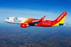 Vé máy bay giá rẻ Đồng Hới đi Vinh của Vietjetair