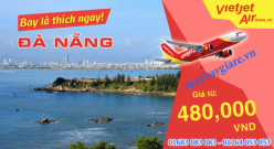 vé máy bay giá rẻ Hà Nội Đà Nẵng của Vietjet Air với giá siêu rẻ Vé máy bay giá rẻ Hà Nội Đà Nẵng của Vietjet Air