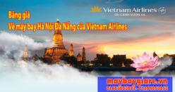 Bảng giá vé máy bay Hà Nội Đà Nẵng của Vietnam Airlines