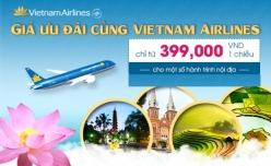 Đại lý vé máy bay giá rẻ tại huyện Nghi Lộc của Vietnam Airlines