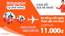 Đại lý vé máy bay giá rẻ tại Đắk Nông của Jetstar