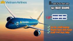 Đại lý vé máy bay giá rẻ tại Hậu Giang của Vietnam Airlines
