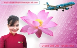 Đại lý vé máy bay giá rẻ tại huyện Bắc Bình của Vietnam Airlines