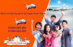 Đại lý vé máy bay giá rẻ tại huyện Chơn Thành của Jetstar