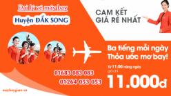 Đại lý vé máy bay giá rẻ tại huyện Đắk Song của Jetstar bán vé rẻ nhất thị trường Đại lý vé máy bay giá rẻ tại huyện Đắk Song của Jetstar