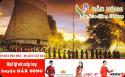 Đại lý vé máy bay giá rẻ tại huyện Đắk Song