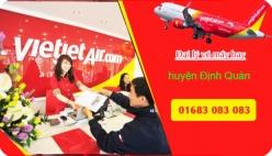 Đại lý vé máy bay giá rẻ tại huyện Định Quán của Vietjet Air uy tín và chất lượng Đại lý vé máy bay giá rẻ tại huyện Định Quán của Vietjet Air