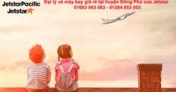 Đại lý vé máy bay giá rẻ tại huyện Đồng Phú của Jetstar