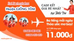 Đại lý vé máy bay giá rẻ tại huyện Giồng Tôm của Jetstar bán vé rẻ nhất thị trường Đại lý vé máy bay giá rẻ tại huyện Giồng Tôm của Jetstar