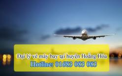 Đại lý vé máy bay giá rẻ tại huyện Hoằng Hóa