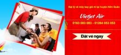 Đại lý vé máy bay giá rẻ tại huyện Hớn Quản của Vietjet Air