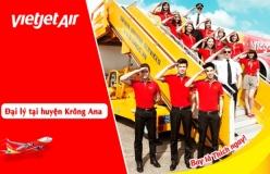 Đại lý vé máy bay giá rẻ tại huyện Krông Ana của Vietjet Air