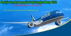 Đại lý vé máy bay giá rẻ tại huyện Mang Thít của Vietnam Airlines