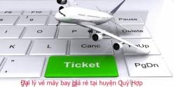 Đại lý vé máy bay giá rẻ tại huyện Quỳ Hợp