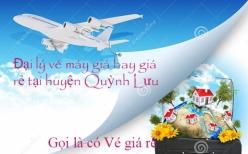 Đại lý vé máy bay giá rẻ tại huyện Quỳnh Lưu