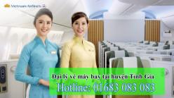 Đại lý vé máy bay giá rẻ tại huyện Tỉnh Gia của Vietnam Airlines
