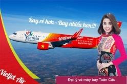 Đại lý vé máy bay giá rẻ tại huyện Triệu Phong của Vietjet Air
