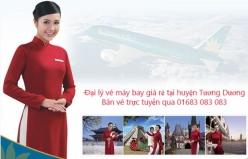 Đại lý vé máy bay giá rẻ tại huyện Tương Dương