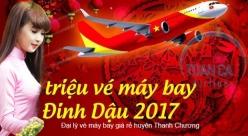 Đại lý vé máy bay giá rẻ tại huyện Tương Dương của Vietjet Air