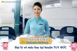 Đại lý vé máy bay giá rẻ tại huyện Tuy Đức của Vietnam Airlines