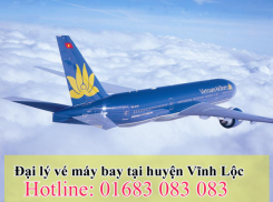 Đại lý vé máy bay giá rẻ tại huyện Vĩnh Lộc