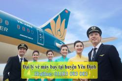 Đại lý vé máy bay giá rẻ tại huyện Yên Định